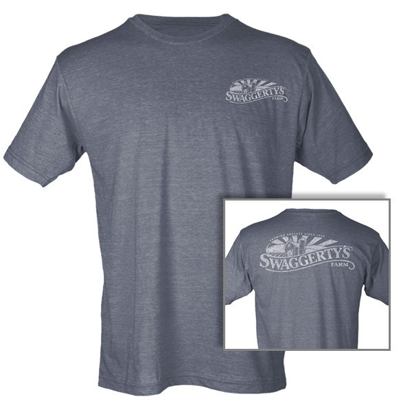 Swaggerty's Heather Charcoal Tee