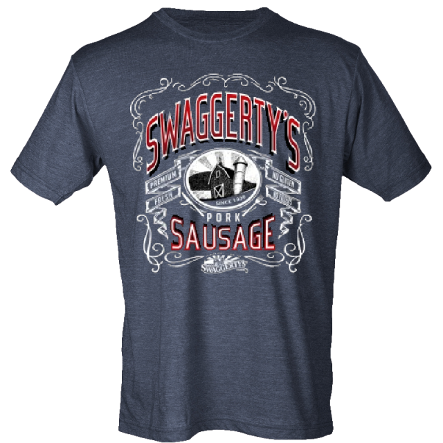 Swaggerty's Heather Navy Tee