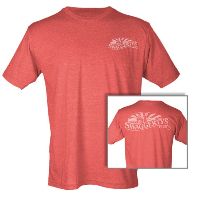 Swaggerty's Heather Red Tee