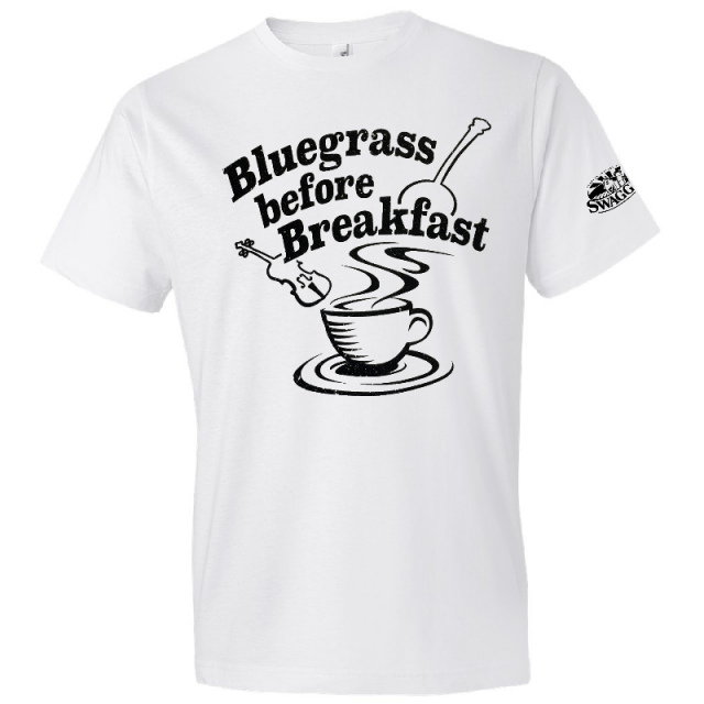 Swaggerty's White Bluegrass Tee