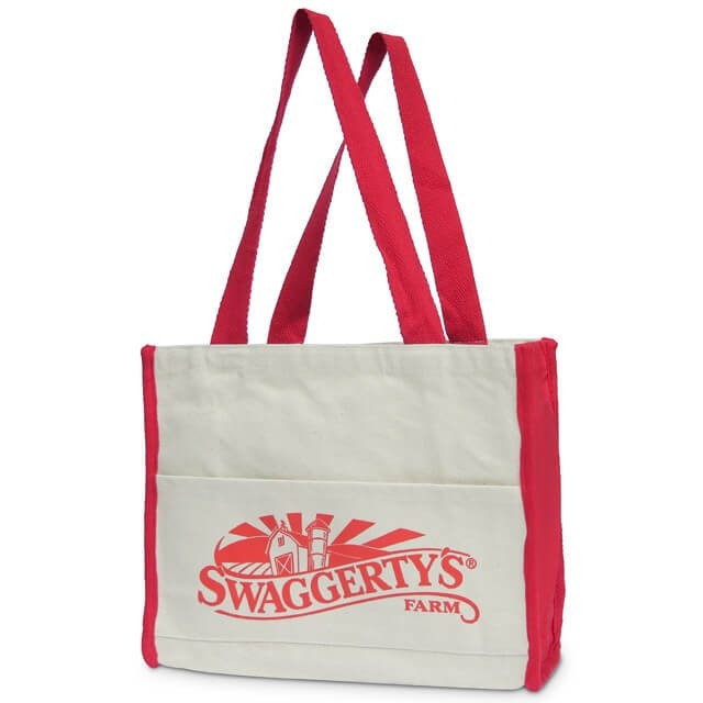 Swaggerty's Cotton Gusset Grocery Tote